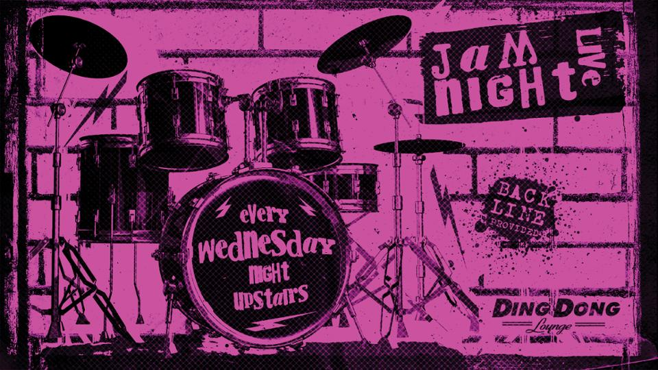 Jam Night open to musicians bands every Wednesday night in Auckland