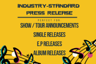 Music Press Release Writer