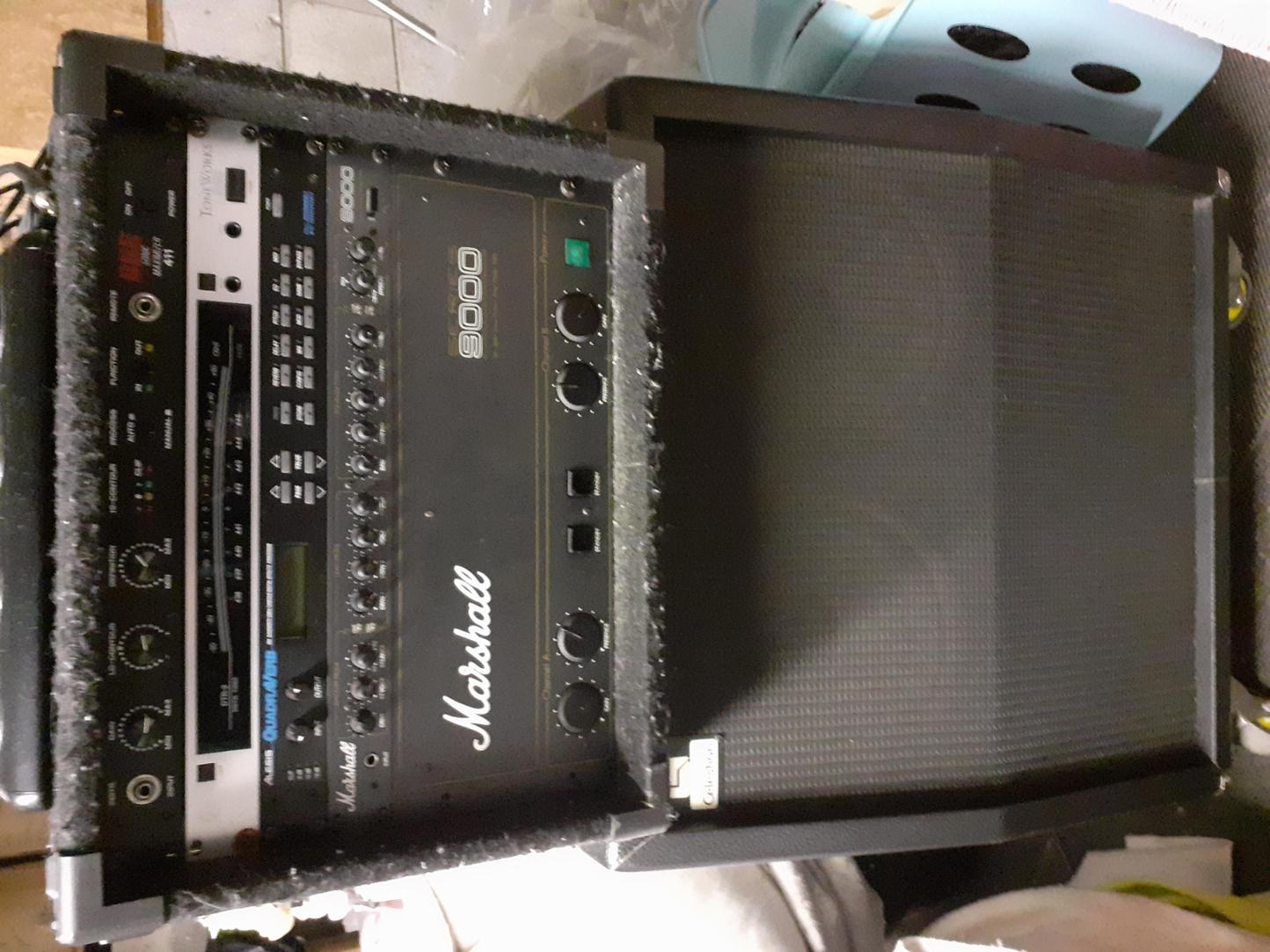 Marshall Series 9000 rack mount Guitar Pre Amp and Power Amp Effect