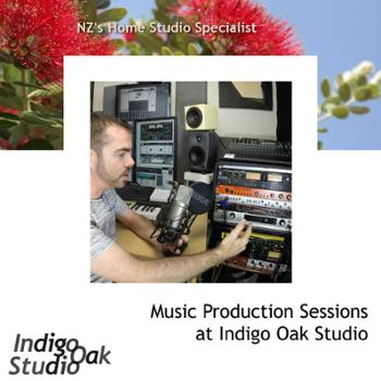 Recording Sessions at Indigo Oak Studio