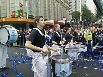 Join New Zealand''s only professional Marching Percussion Drumline