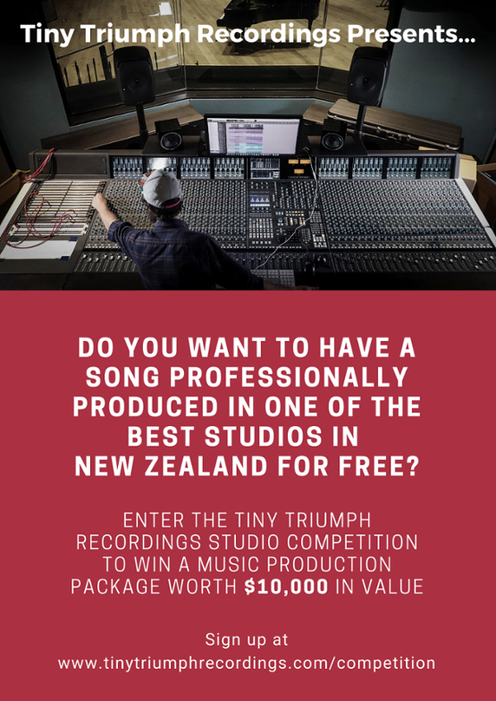 Tiny Triumph Recordings Recording Studio Competition